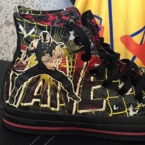 Batman DC Bane Converse All Star high tops 9